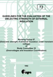guidelines for the evaluation of the dielectric strength of external ...