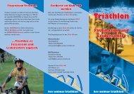 Download Flyer - HSV Weimar Triathlon