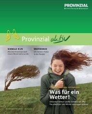 Ausgabe 2 - Provinzial Rheinland