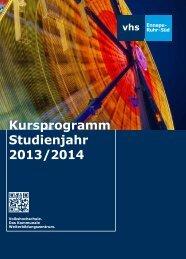 Jahresprogramm 2013/14 - Deutsches Institut für Erwachsenenbildung