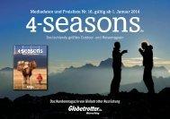 Mediadaten und Preisliste Nr. 16, gültig ab 1. Januar ... - 4-Seasons.de