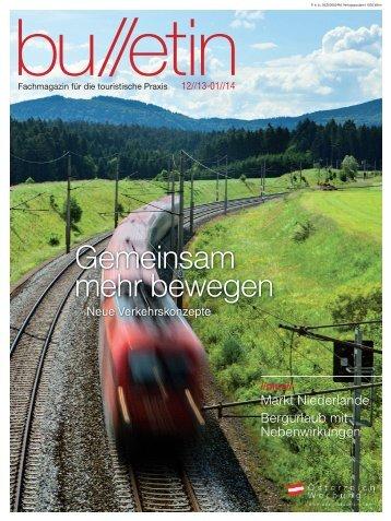 bulletin Dezember/Jänner 2013/14. - Österreich Werbung