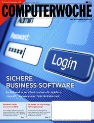 SICHERE BUSINESS-SOFTWARE - Computerwoche