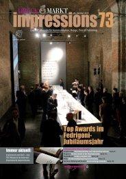 DRUCK MARKT Top Awards im Fedrigoni- Jubiläumsjahr