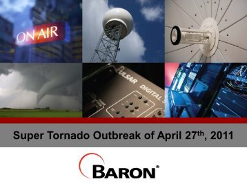 2011 Baron April 27 Tornadoes