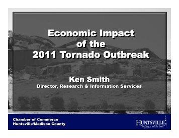 Economic Impact - April 27th Tornadoes, Final.pptx - City of Huntsville