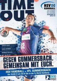 HSV HANDBALL VS. VFL GUMMERSBACH