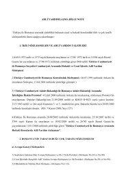 romanya-türkiye arasındaki adli yardımlaşma hakkında bilgi - Hsyk
