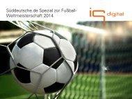 Süddeutsche.de Spezial zur Fußball- Weltmeisterschaft 2014