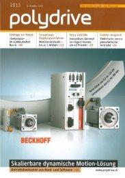 Umfrage zur Motek 2013 (Polydrive 02-13) - Eichenberger Gewinde ...