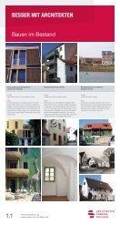 www.aksachsen.org www.besser-mit-architekten.de