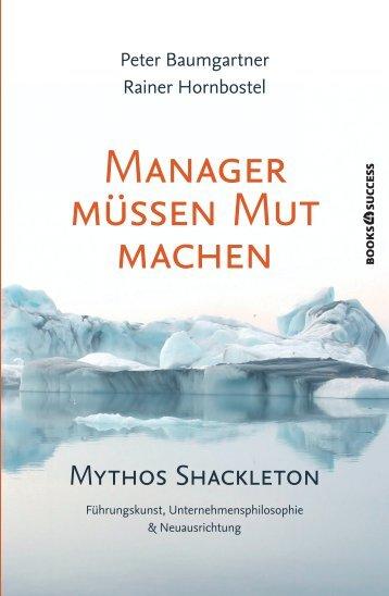 """Leseprobe """"Manager müssen Mut machen"""" - Financebooks.de"""