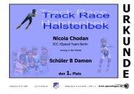 Nicola Chodan Schüler B Damen - Halstenbeker TS