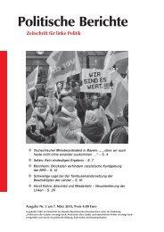 Politische Berichte 3/2013, S. 4