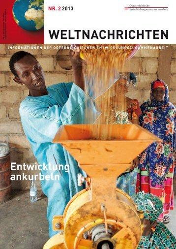 weltnachrichten - Österreichische Entwicklungszusammenarbeit
