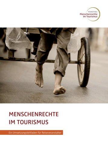 Menschenrechte iM tourisMus - Deutsches Global Compact Netzwerk