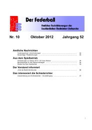 Nr. 10 Oktober 2012 Jahrgang 52 Amtliche Nachrichten