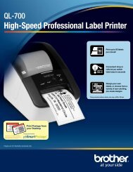 ql 700 - label printer - Brother