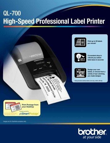 ql 700 - label printer - Brother