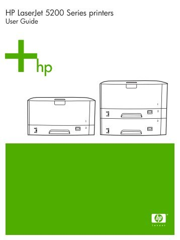 HP LaserJet 5200 user guide - ENWW