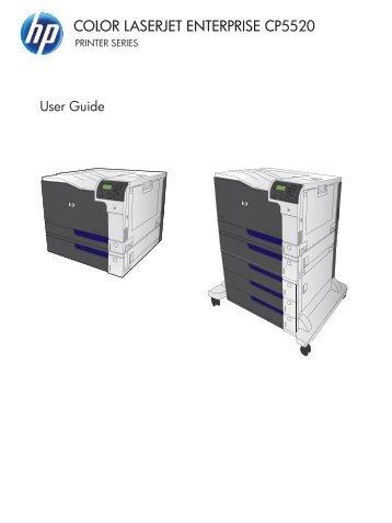HP Color LaserJet Enterprise CP5520 Series Printer
