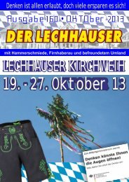 der Lechhauser - Werbeverlag + Werbeagentur Tauber - T-Online