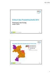 2014_Folien Haushaltsrede KD -final2 - Kreis Unna