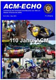 echo-2013-06 - ACM Automobilclub München von 1903 e. V.