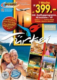 türkische Riviera - Domo Reisen