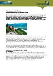 Herbstwandern in der Wachau - Donau Niederösterreich Tourismus ...