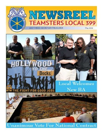 May 2008 - Teamsters Local 399