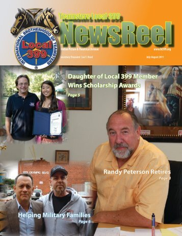 July-August 2011 - Teamsters Local 399