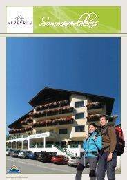 Sommerpreisliste 2013 downloaden [PDF] - Hotel Alpenruh