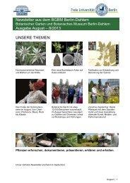 Newsletter aus dem BGBM Berlin-Dahlem Ausgabe August – 8 ...