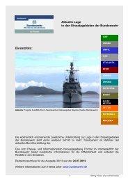 Unterrichtung der Öffentlichkeit Nr. 30/13 ( PDF , 195 ... - Bundeswehr