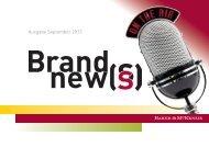 Brand News_Ausgabe Herbst 2013 - Baker & McKenzie