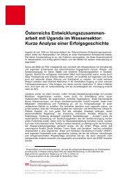 Kurze Analyse einer Erfolgsgeschichte - Österreichische ...