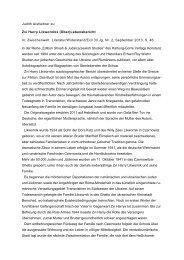 Judith Aistleitner zu Zvi Harry Likworniks (Über ... - Erinnern