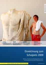 Einreichnung zum Schulpreis 2009 - HTL Braunau