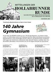140 Jahre Gymnasium