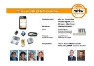 mHw -‐ mobile HEALTH watcher W. Gundacker, T. Egermann, C ...