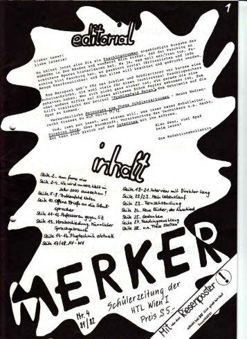 merker-1981-82-Heft-4 - HTL Ottakring