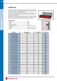 Preisliste Konvektoren - HTS System AG