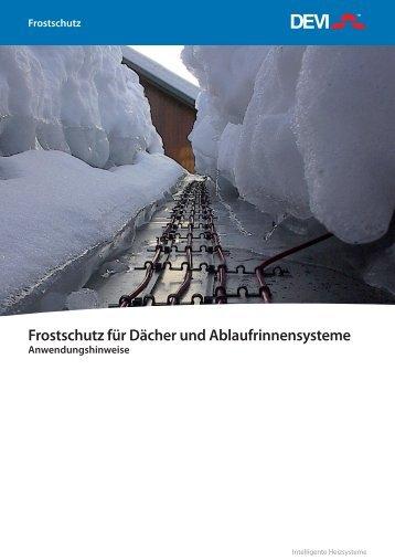 Anwendungshinweise Frostschutz - HTS System AG