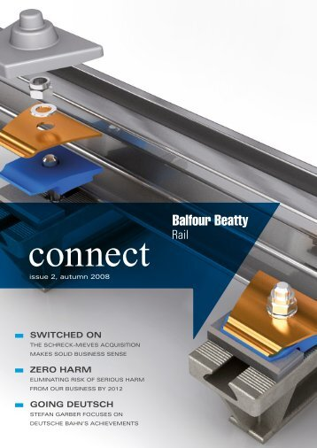 SWITCHED ON ZERO HARM GOING DEUTSCH - Balfour Beatty Rail