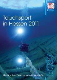 Tauchsport in Hessen 2011 - Schwarzbachtaucher