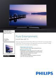 32PFL3188H/12 Philips Full HD Slim LED TV with Digital Crystal Clear