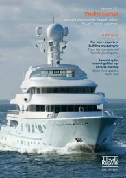Yacht Focus 2013 (pdf, 1960kb) - Lloyd's Register