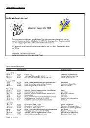 Amtliches 20/2011 Frohe Weihnachten und ein gutes Neues Jahr ...