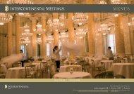 Download Event-Menü - InterContinental Wien